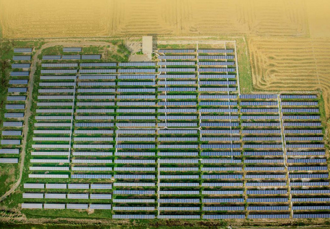 MW-Scale Solar Project