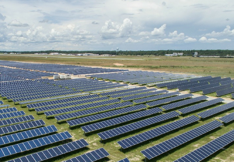Power Generated in Solar Parks