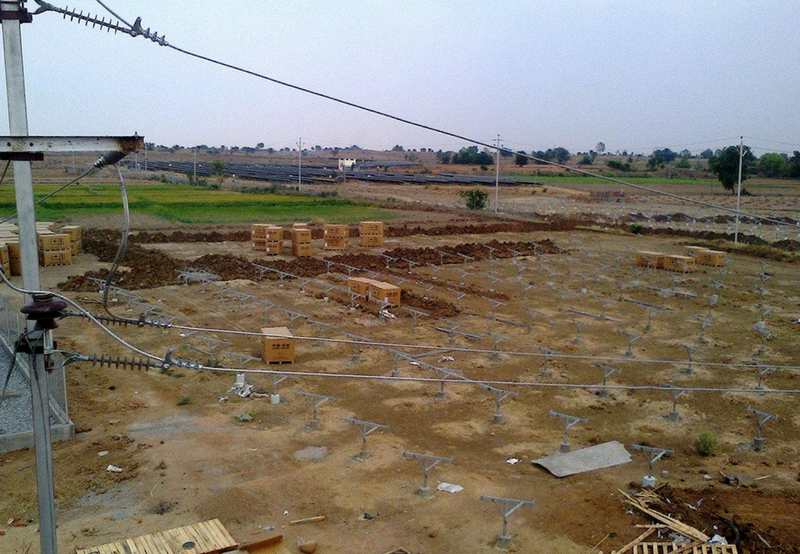 Under-Construction Solar Project