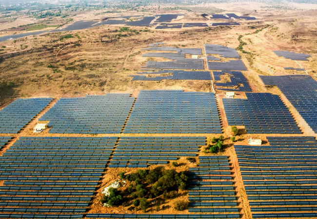 Utility-Scale Solar Project