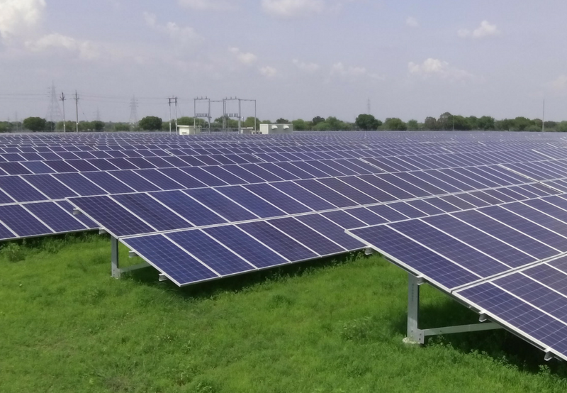 5 MW SOLAR PROJECT COMMISSIONED IN MAHOBA