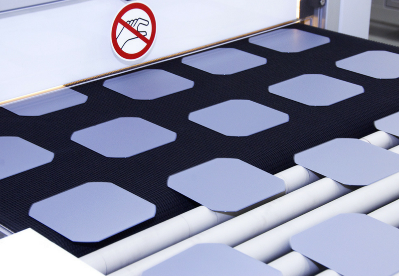 Websol Solar Cell Module manufacturing