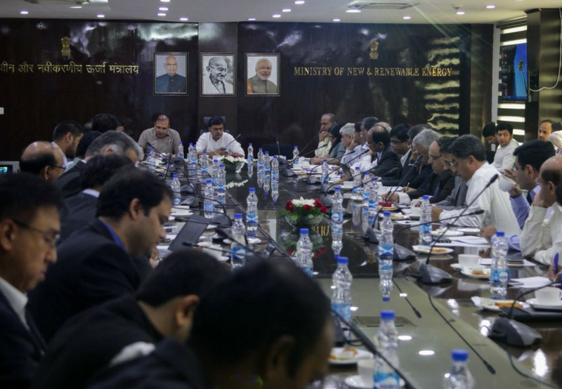 Meeting Between Solar Industry Stakeholders and Minister of Power