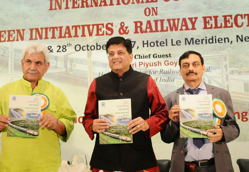 Green Initiatives and Railway Electrification