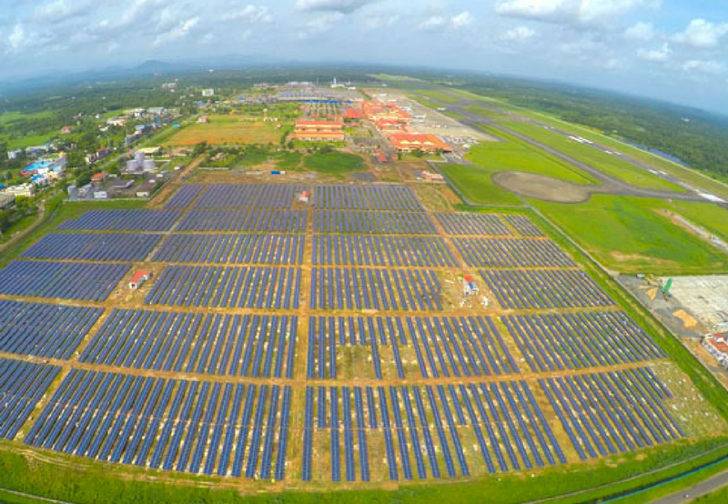 Grid-Connected Solar PV Projects Tendered for Cochin Airport