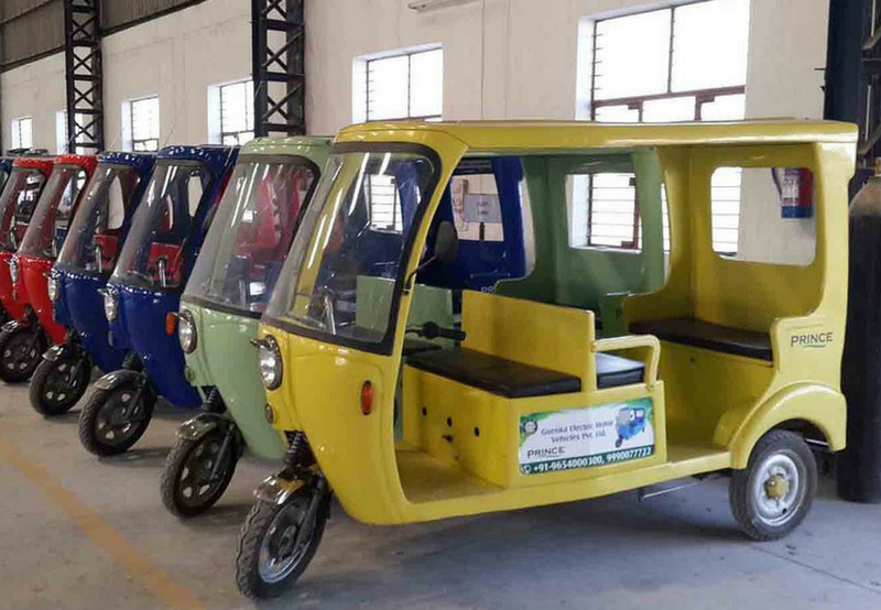 ABB Developing Solar Charging Stations for E-Rickshaws in Jabalpur