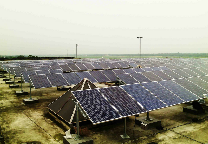 15 MW Grid-Connected Solar Project Commissioned for Kolkata International Airport