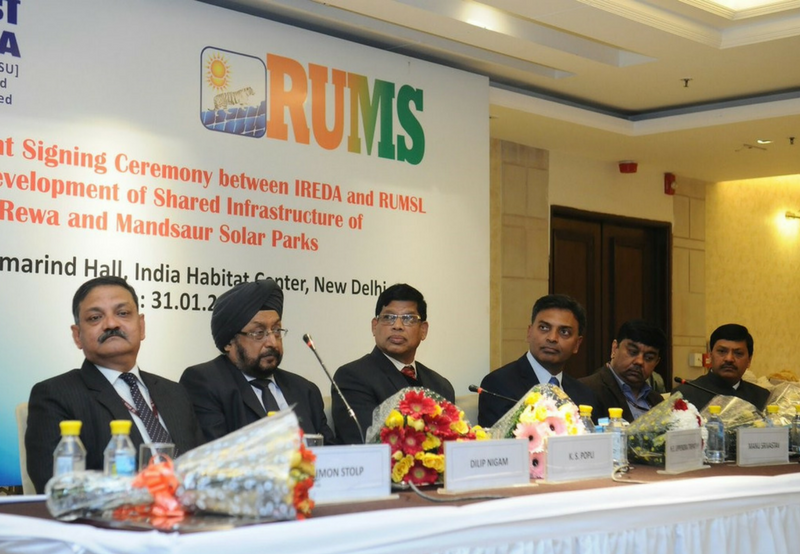 IREDA Loans $35 Million from World Bank to Rewa and Mandsaur Solar Projects