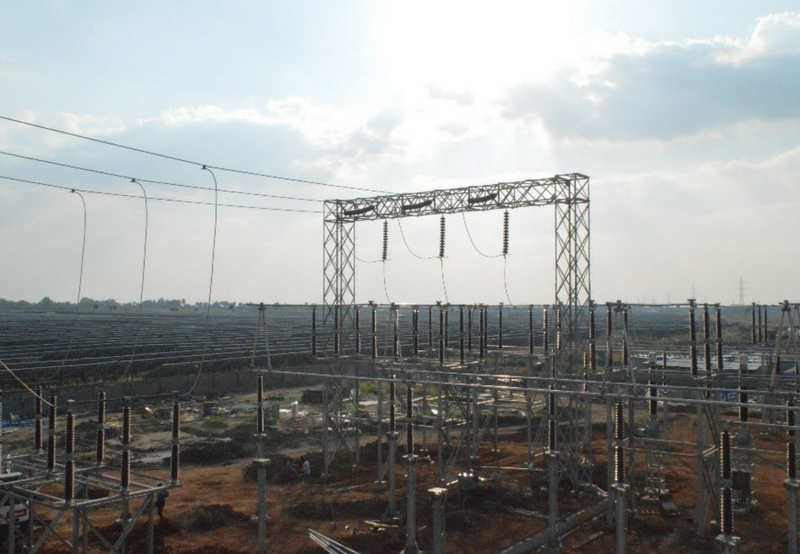 600 MW of Solar Projects Synchronized to the Grid at Karnataka's Pavagada Park