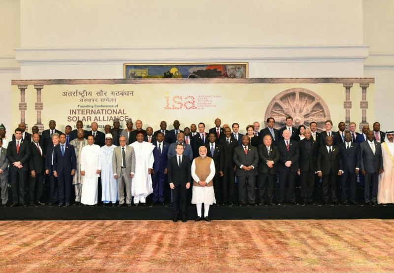 At ISA Conference, India Pledges $1.4 Billion for Solar Projects in Developing Countries