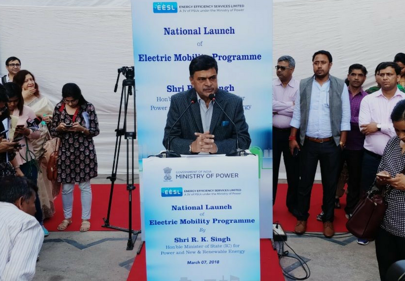 National E-Mobility Program Launched in India