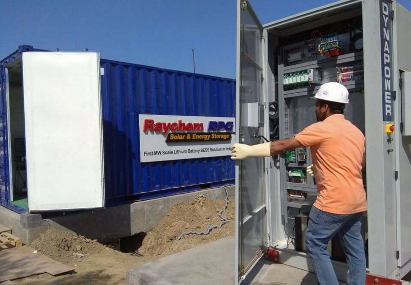 Dynapower and Raychem Sign Agreement to Bring Energy Storage Inverter Technology to India
