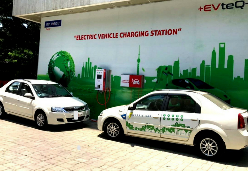 NTPC and Reliance Energy Commission EV Charging Stations for their Fleet
