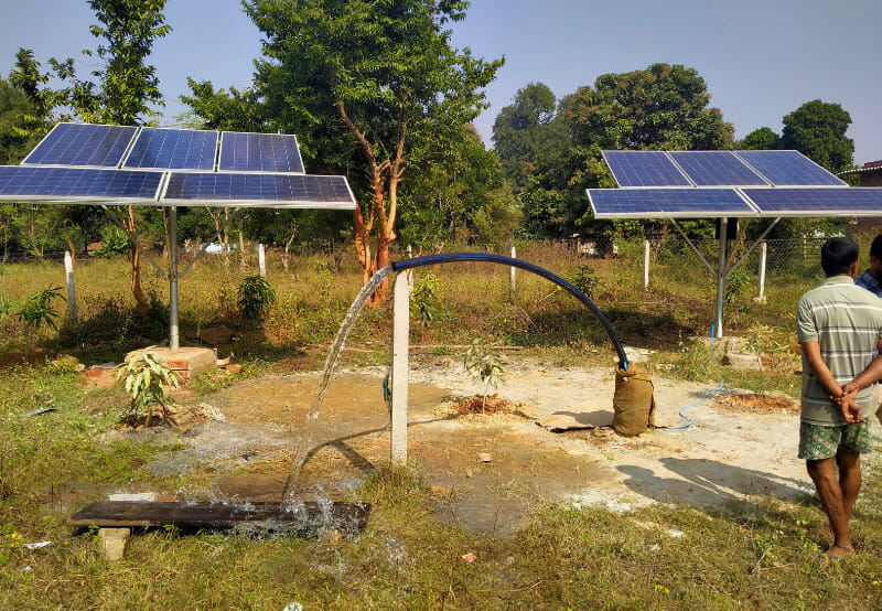 A Total of 96,376 Solar Pumps Approved in FY 2017-18: R.K. Singh
