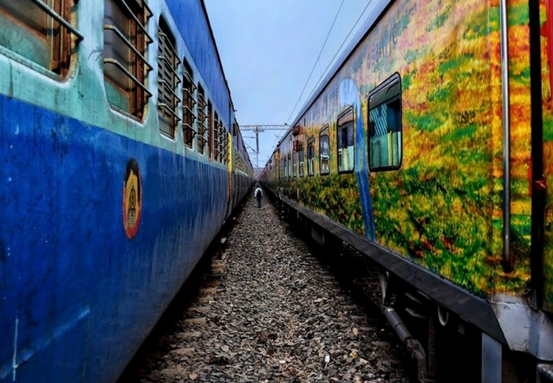 Indian Railways Announces Plans to Install Solar Panels on Stations and Trains