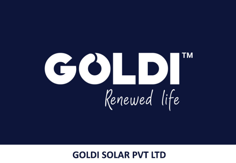 Goldi Solar Launches New Corporate Identity at REI-2018