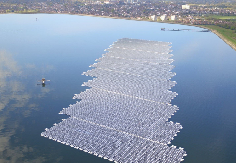 NTPC's New 25 MW Floating Solar Project Tender in Andhra Pradesh