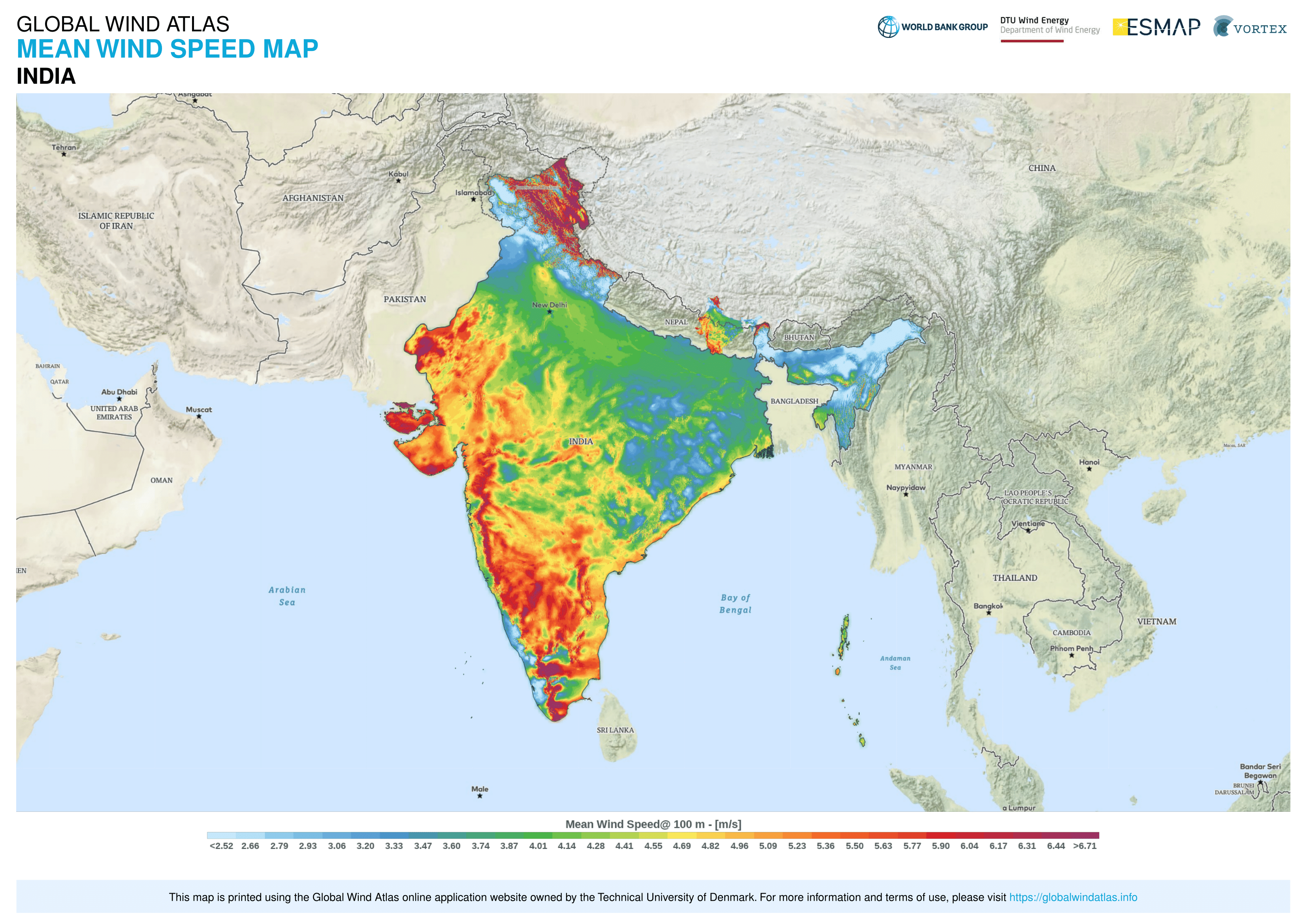 World Bank Launches New Version of Global Wind Atlas for Onshore and Offshore Wind