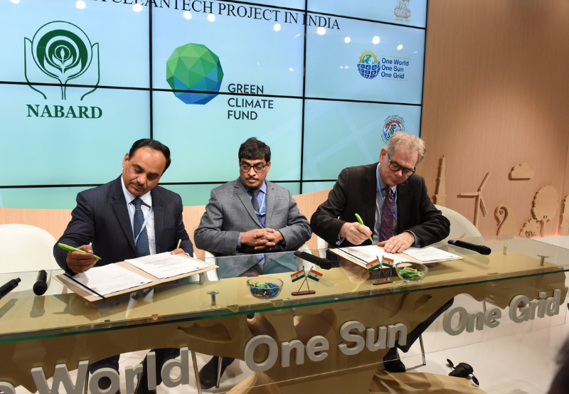 NABARD Inks Pact with GCF to Infuse $100 Million for the Growth of Rooftop Solar in India