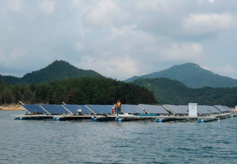 Uttar Pradesh Approves ReNew Power's Bid to Develop 100 MW of Floating Solar Projects