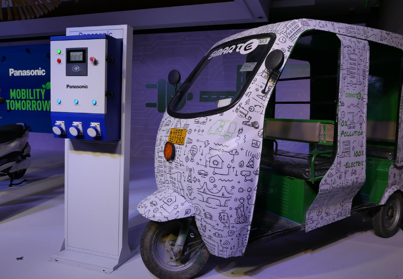 Panasonic Launches EV Charging Service in Delhi-NCR
