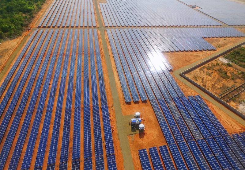 India's Solar Sector Attracts $2.8 Billion in Investments in Q1 2019