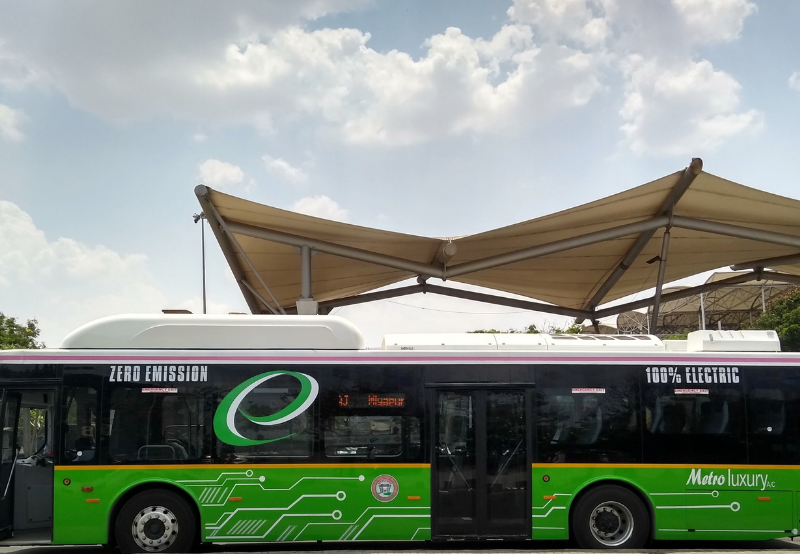 5,595 Electric Buses to Soon be Deployed Across 64 Indian Cities