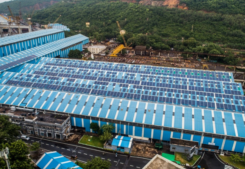 Hindustan Shipyard to Install 1 MW of Rooftop Solar Projects in Andhra Pradesh
