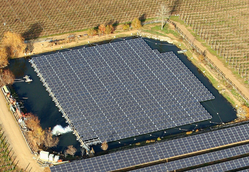 South Korea to Build World's Largest Floating Solar Power Project