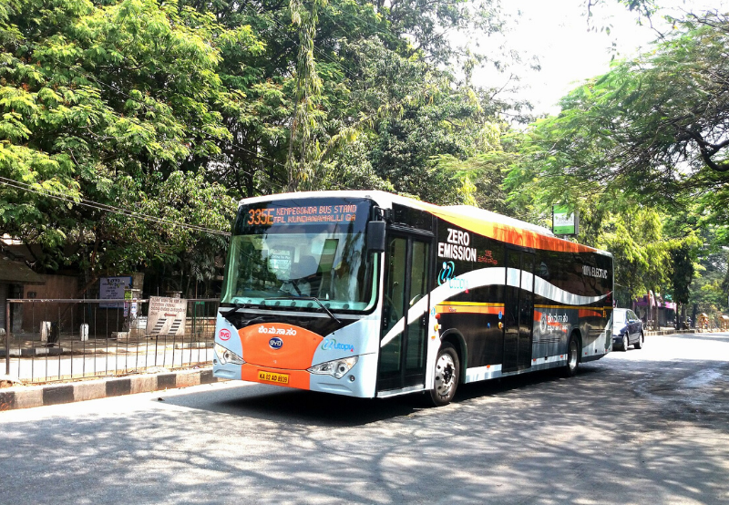 Ashok Leyland Partners With ABB Power Grids to Develop Fast Charging Electric Buses