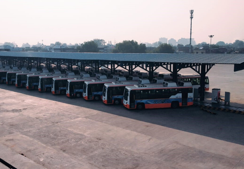 Fast Charging Network for Electric Buses Set Up in Gujarat