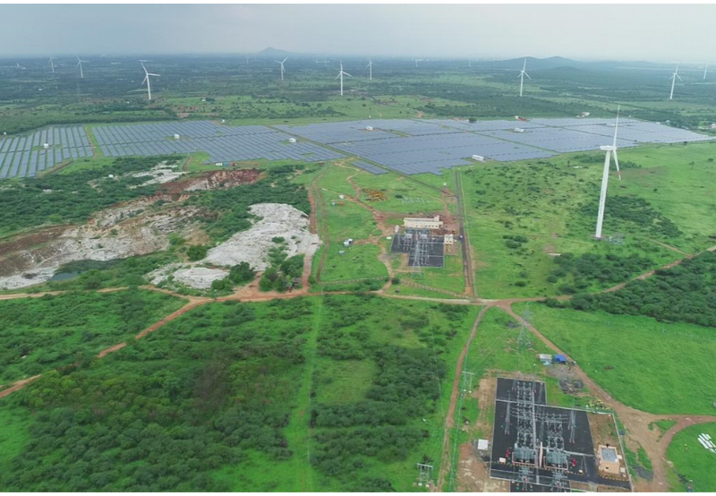 Solar's Share in India's Total Installed Power Capacity Reaches 9.6% at the End of 2019