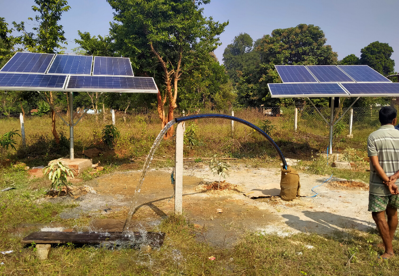 Eesl Issues Tender To Procure Solar Pumps Mercom India