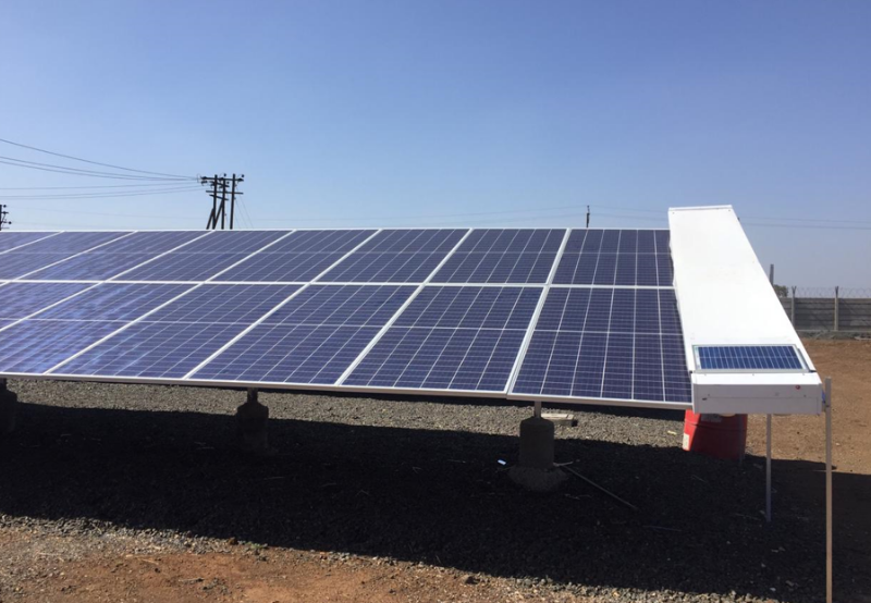 Robotic Cleaning of Solar Modules Gaining Traction in India Amid Water Scarcity