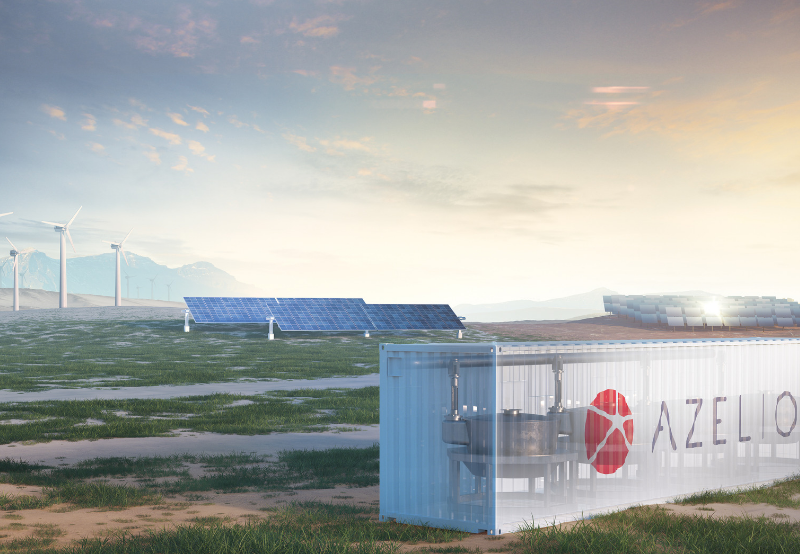 Sweden's Azelio Installs Round-the-Clock Energy Storage System in Morocco