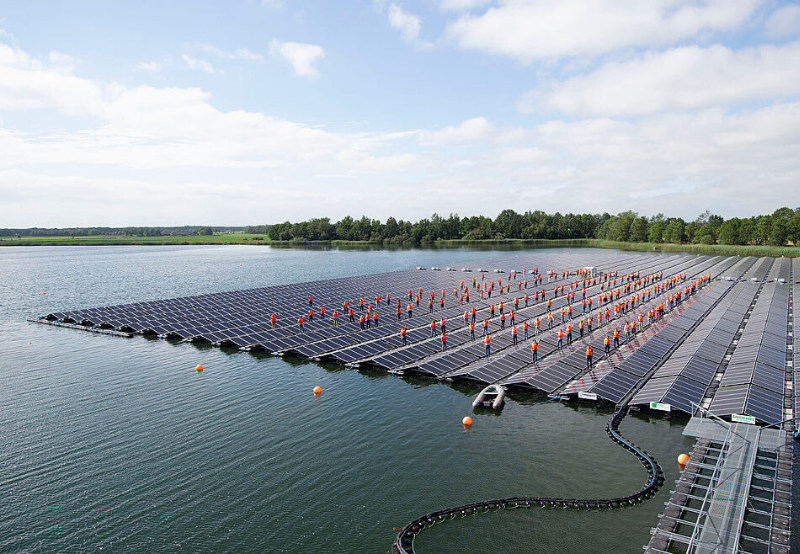 West Bengal to Develop a 10 MW of Floating Solar Project at Sagardighi