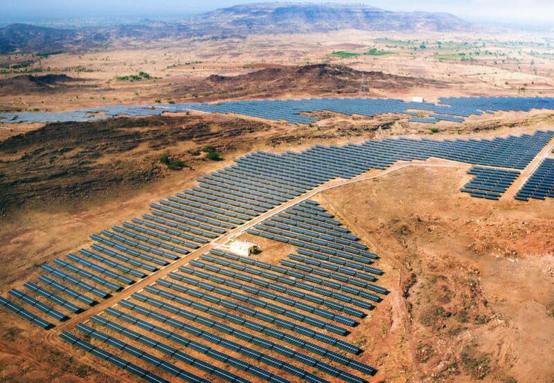 With 2,245 MW of Commissioned Solar Projects, World's Largest Solar Park is Now at Bhadla - Mercom India