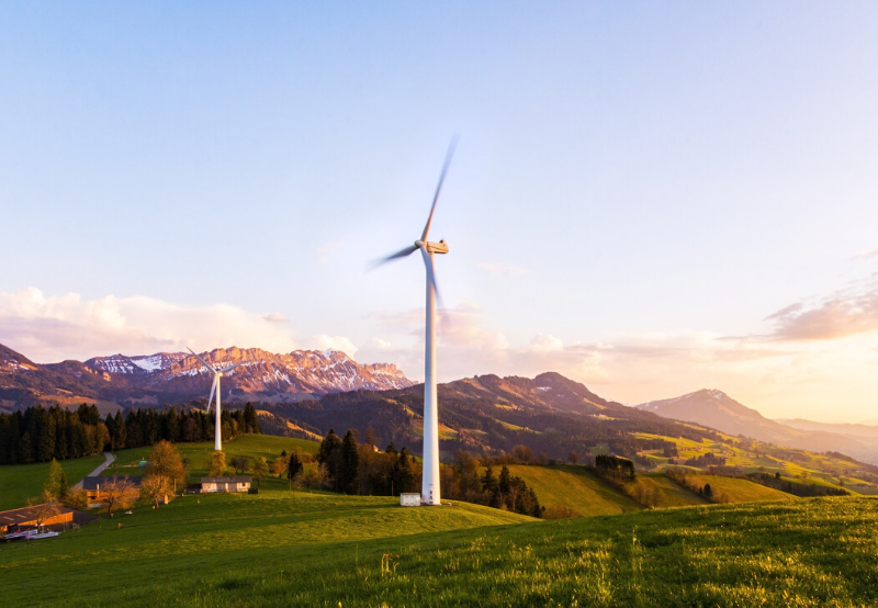 Top Five States for Wind Energy