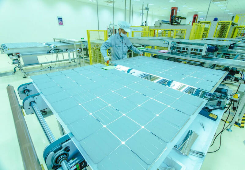 A Vertically Integrated Solar Module Manufacturing Facility Opens in Turkey