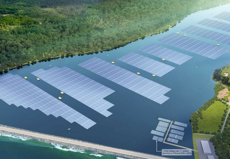 DBS Bank Loans $29 Million To Sembcorp for a 60 MW Floating Solar Project
