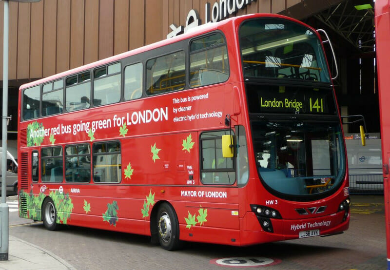 Electric Buses in This London Garage Set To Generate Electricity When Not in Use