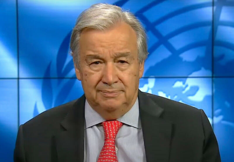 UN Secretary-General Calls on India to Take Lead in Global Transformation to Renewables