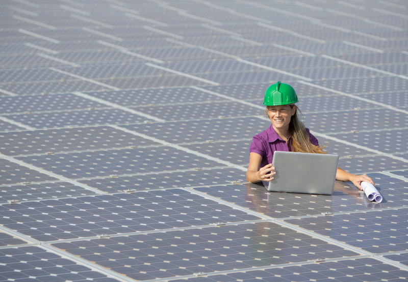 Women Occupy One-Third of Workforce in the Global Renewable Energy Sector