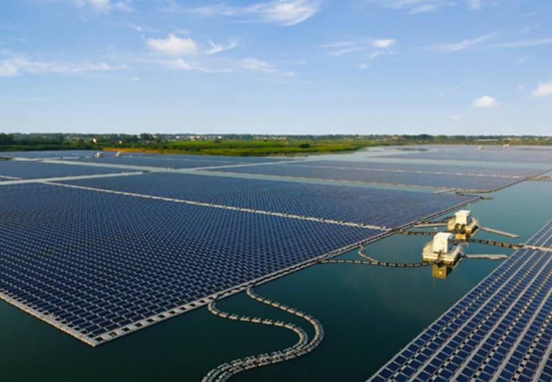 Floating Solar in Hydropower Projects Could Generate 7.6 TW of Energy Annually
