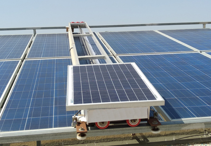 Scientists Use Machine Learning to Schedule Off-Grid Solar Module Cleaning